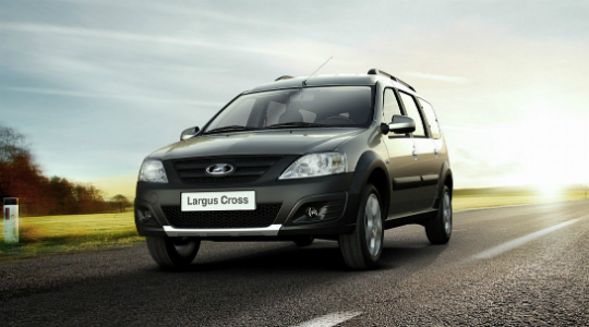 Lada Largus Cross CNG