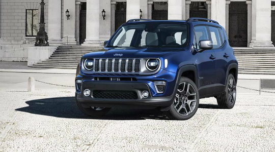 Jeep Renegade новый в лизинг
